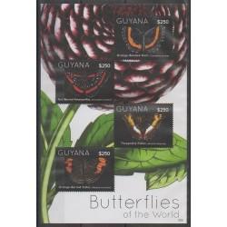 Guyana - 2012 - No 6210/6213 - Insectes
