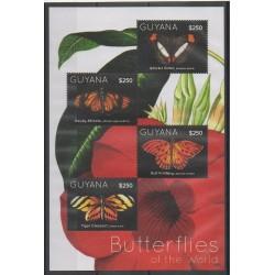 Guyana - 2012 - No 6214/6217 - Insectes