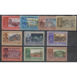 Russie - 1969 - No 3470/3477B - Monuments