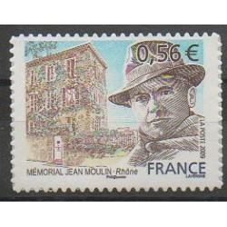 France - Autoadhésifs - 2009 - No 340 - Célébrités - Seconde Guerre Mondiale