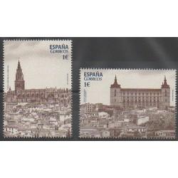 Espagne - 2014 - No 4599/4600 - Églises - Monuments