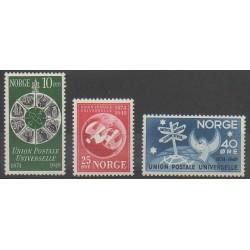Norvège - 1949 - No 314/316 - Service postal