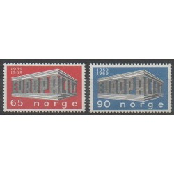 Norway - 1969 - Nb 538/539 - Europa