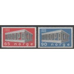 Norvège - 1969 - No 538/539 - Europa