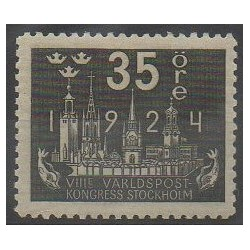 Sweden - 1924 - Nb 169 - Postal Service - Mint hinged