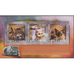 Guinea - 2014 - Nb 7166/7168 - Cats