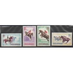 Romania - 1964 - Nb 2009/2012 - Horses