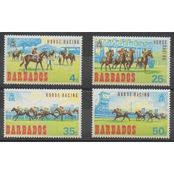 Barbade - 1968 - No 289/292 - Chevaux