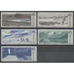 Suède - 1970 - No 657/661 - Polaire