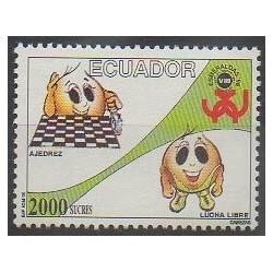Équateur - 1996 - No 1353 - Échecs