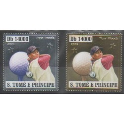 Saint-Thomas et Prince - 2006 - No 2133-2137 - Sports divers