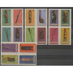 Aitutaki - 1980 - Nb 254/269 - Art