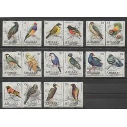 Aitutaki - 1981 - Nb 277/292 - Birds