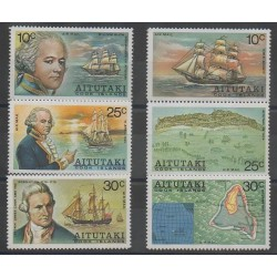 Aitutaki - 1974 - No PA1/PA6 - Navigation