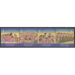 Aitutaki - 2011 - No 639/642 - Noël