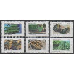 Aitutaki - 2011 - No 631/636 - Animaux marins