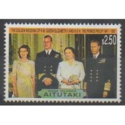 Aitutaki - 1997 - No 573 - Royauté - Principauté