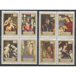 Aitutaki - 1994 - No 554/561 - Noël