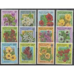 Aitutaki - 1994 - Nb 538/549 - Flowers