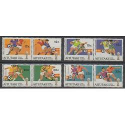 Aitutaki - 1981 - No 318/325 - Coupe du monde de football