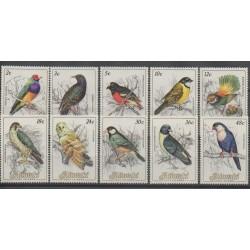 Aitutaki - 1984 - Nb 380/389 - Birds