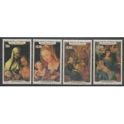 Aitutaki - 1986 - Nb 442/445 - Christmas