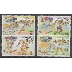 Aitutaki - 1988 - No 468/471 - Jeux Olympiques d'été