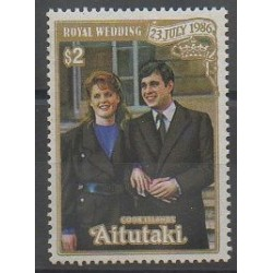 Aitutaki - 1986 - No 441 - Royauté - Principauté