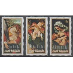 Aitutaki - 1972 - No 42/44 - Noël