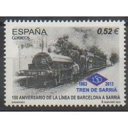 Espagne - 2013 - No 4498 - Chemins de fer