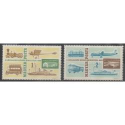 Hongrie - 1966 - No 1824/1825 - Télécommunications