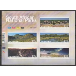 Afrique du Sud - 2014 - No 1843/1847 - Sites