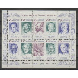 South Africa - 1996 - Nb 925/934 - Celebrities
