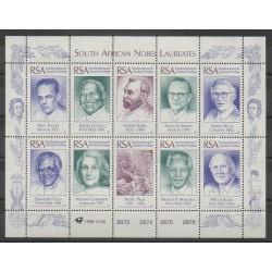 Afrique du Sud - 1996 - No 925/934 - Célébrités