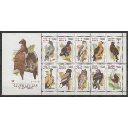 Afrique du Sud - 1998 - No 1020/1029 - Oiseaux