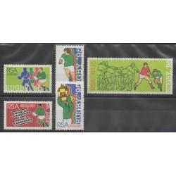 Afrique du Sud - 1995 - No 872/876 - Sports divers