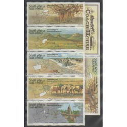 Afrique du Sud - 1995 - No 878/882 - 878a - Sites