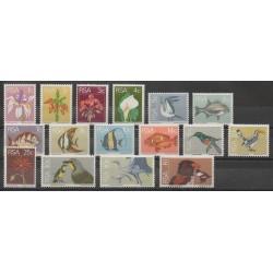 Afrique du Sud - 1974 - No 359/374 - Animaux