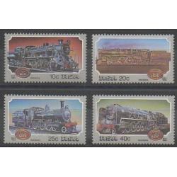 Afrique du Sud - 1983 - No 535/538 - Chemins de fer