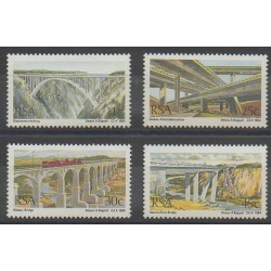 Afrique du Sud - 1984 - No 565/568 - Ponts
