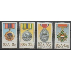 South Africa - 1984 - Nb 575/578 - Coins, Banknotes Or Medals