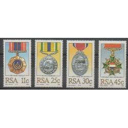 Afrique du Sud - 1984 - No 575/578 - Monnaies, billets ou médailles