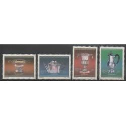Afrique du Sud - 1985 - No 592/595 - Art