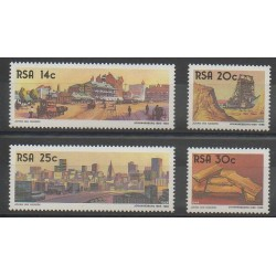 Afrique du Sud - 1986 - No 610/613 - Sites