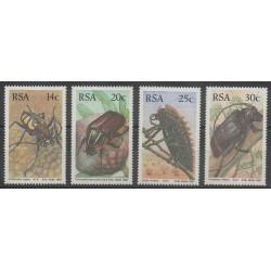 Afrique du Sud - 1987 - No 618/621 - Insectes