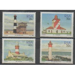 Afrique du Sud - 1988 - No 656/659 - Phares