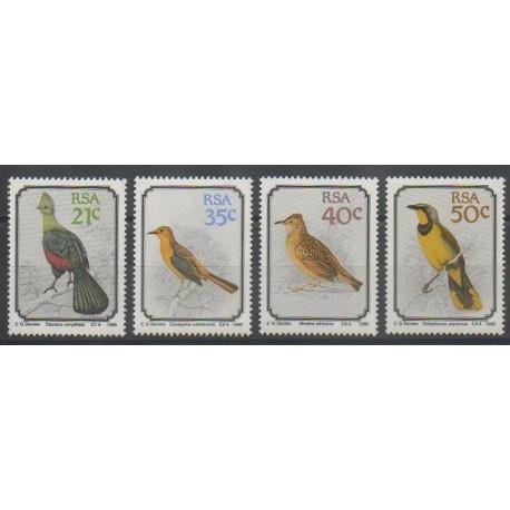 Afrique du Sud - 1990 - No 717/720 - Oiseaux