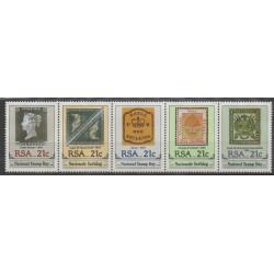 Afrique du Sud - 1990 - No 712/716 - Timbres sur timbres