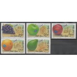 Afrique du Sud - 1994 - No 834/838 - Fruits ou légumes