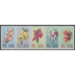 Afrique du Sud - 1994 - No 861/865 - Fleurs